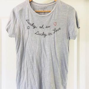 Lucky brand tee shirt